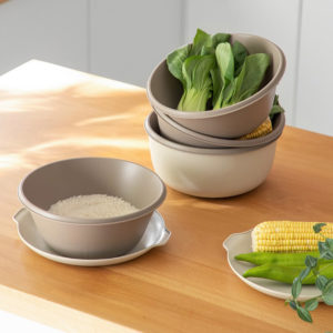 Multi-layer Strainer & Colander With Cover Nesting Kitchen Cooking Tools Accessories Rice Vegetables Washing Style Degree Sg Singapore