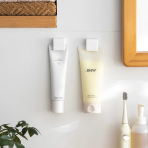 Space-saving Toothpaste & Makeup Cosmetics Tubes Wall Holder Style Degree Sg Singapore