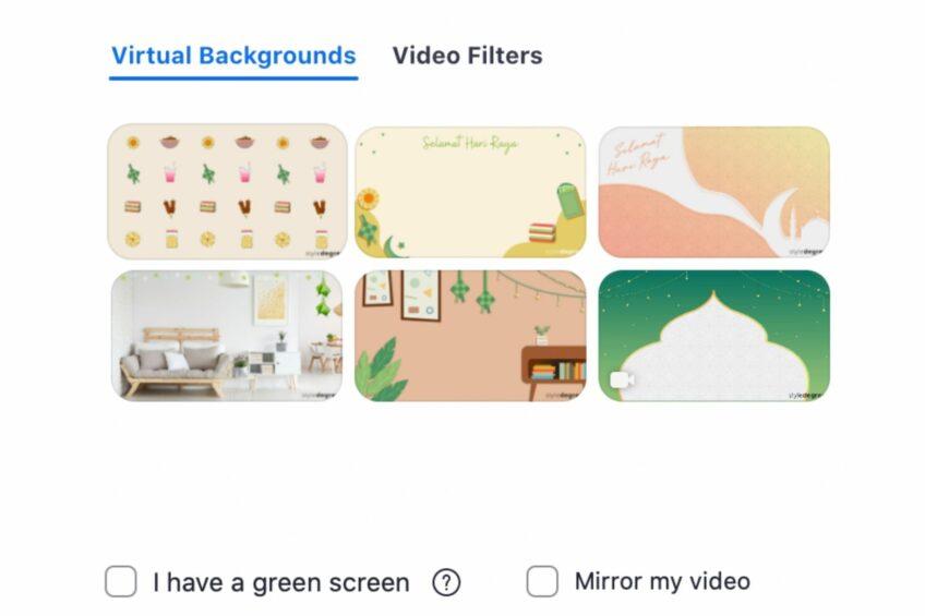 Hari Raya Zoom Virtual Background Wallpaper (FREE Download)