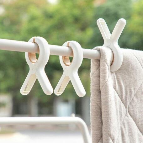 Large Laundry Peg & Clips (3pc Set) Clothes Quilt Bedding Duvet Hanger Clip Style Degree Sg Singapore