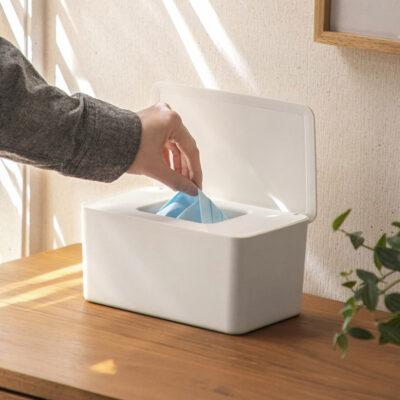 Hygienic Face Mask & Tissue Storage Box Organizer Box Desk Surgical Masks Disposable Gloves Holder Pouch Style Degree Sg Singapore