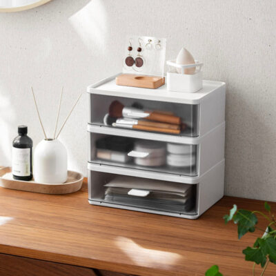 Stackable Desk Cosmetic Vanity Stationery Organizer Customisable Table Holder Style Degree Sg Singapore