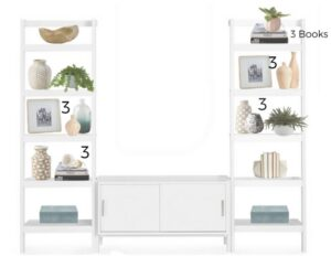 3 object rule, shelf decorating rules, Style Mag, SG, Singapore, Style Degree