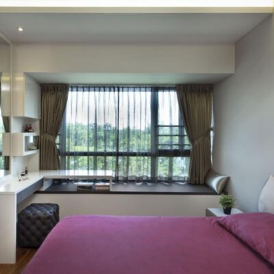 Bay window L shaped desk, Bay window plants, Bay window home garden, Style Degree, StyleMag, Singapore, SG