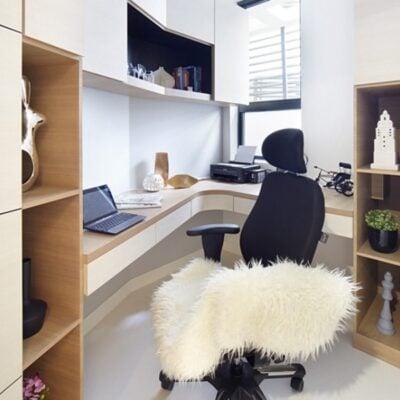 Bay window desk, Bay window L shaped desk, StyleDegree, StyleMag, Singapore, SG
