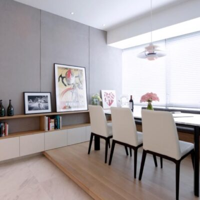 Bay window dining area, Bay window dining nook, StyleDegree, StyleMag, Singapore, SG