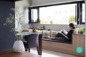 Bay window seating, StyleDegree, StyleMag, Singapore, SG