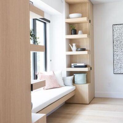 Bay window shelf, Bay window storage,, StyleDegree, StyleMag, Singapore, SG
