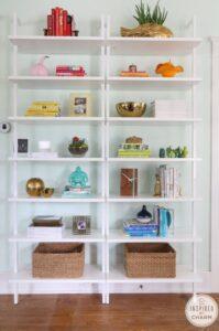 Vibrant shelf, Style Mag, SG, Singapore, Style Degree