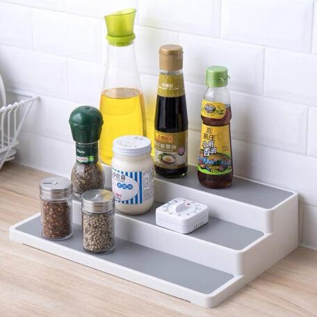 3-Step Spice & Condiment Rack