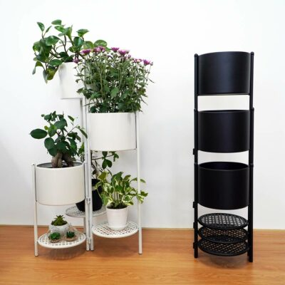 Canopy Plant & Flower Pot Stand Plants Rack Home Garden Style Degree