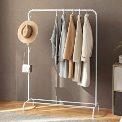 Grande Clothes Stand (With Hanging Hooks) Rack Wardrobe Closet Hanger Storage Style Degree Sg Singapore