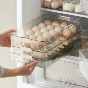 Klear Multi-Layer Fridge Food Container Storage Box Style Degree Sg Singapore