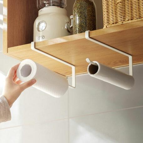 Slim Kitchen Towel Cabinet Hanging Holder Under Cabinet Hanging Accessories Style Degree Sg Singapore