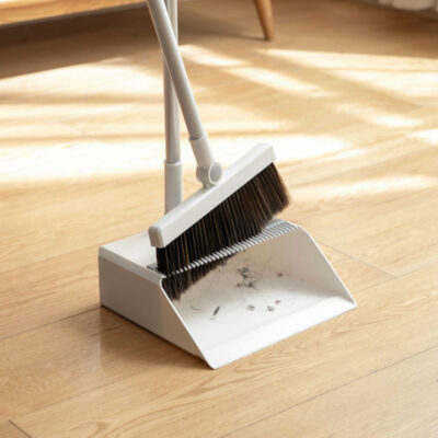 Magic Self-Cleaning Broom & Dustpan Set Sweeping Cleaning Tools Accessories Style Degree Sg Singapore