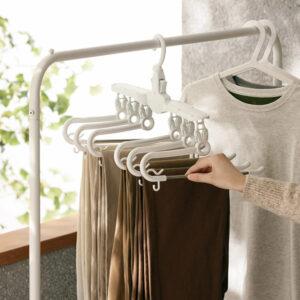 Space-saving Pants & Bottoms Clothes Hanger Closet Wardrobe Hangers Jeans Towel Shorts Style Degree Sg Singapore