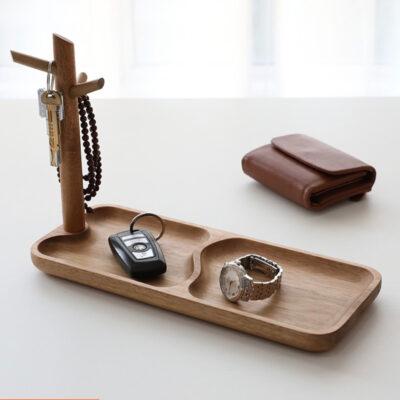 Woody Keys & Accessories Tray Organizer