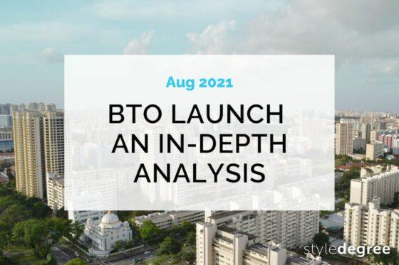 August 2021 HDB BTO Sales Launch: An In-depth Analysis