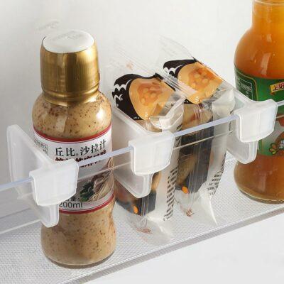 Mini Fridge Shelf Dividers (4pc Set) Freezer Refrigerator Storage Organizer Style Degree Sg Singapore
