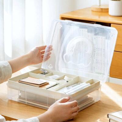 Stationery & A4 Documents Storage Box Paper File Desk Holder Organizer Style Degree Sg Singapore