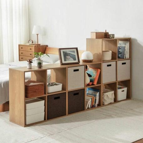 The Scandinavian Modular Shelf Storage Shelving Rack Bookshelf Kids Divider Living Room Style Degree Sg Singapore