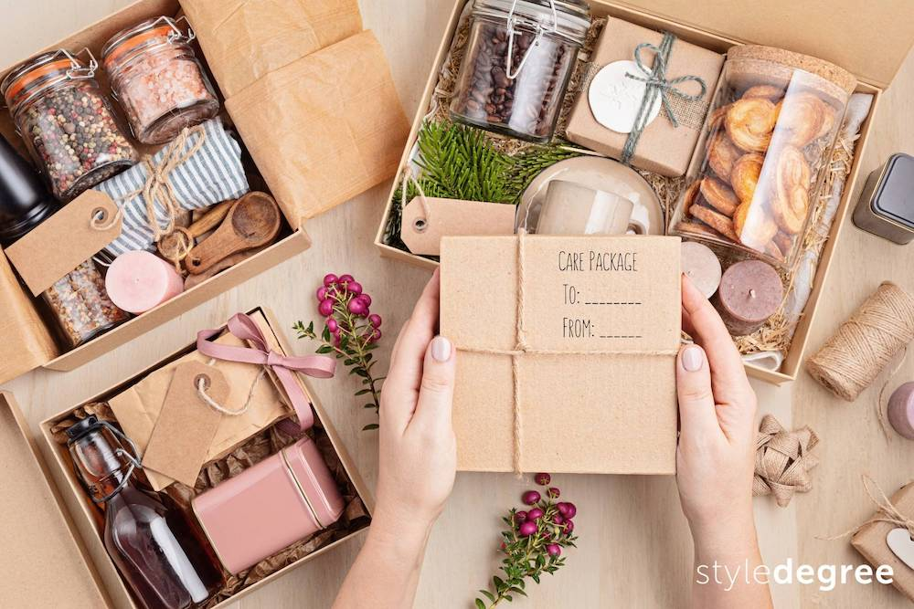 Customised care package ideas for gifts, Singapore, Style Degree, SG