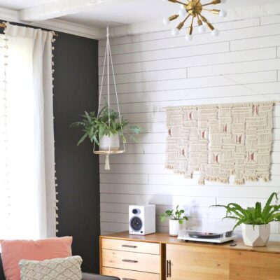 Hanging plants in living room ideas, Singapore, SG, StyleDegree, StyleMag