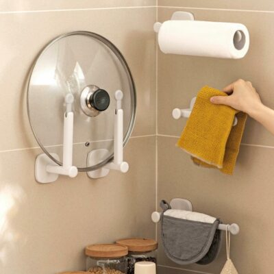 Extendable Lid & Towel Wall Holder