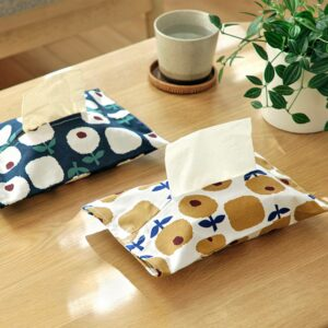 Flowery Tissue Sleeve Case Holder Floral Living Room Coffee Table Style Degree Sg Singapore