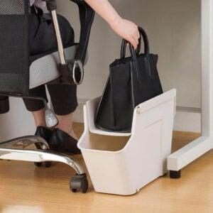 Handbag & Briefcase Under Desk Storage Work Table Office Organizer Work From Home Style Degree Sg Singapore