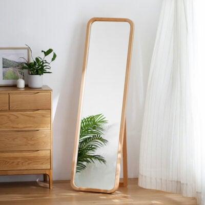The Scandinavian Full Length Mirror Full Height Wardrobe Body Wall Mirror Style Degree Sg Singapore