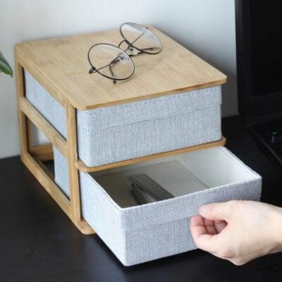 Gaia Office & Vanity Desk Organizer Jewelry Accessories Storage Table Organization Style Degree Sg Singapore