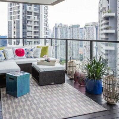 Balcony garden condo, Balcony garden condo ideas, Balcony garden with couches, Balcony garden ideas, Style Degree, Singapore, SG, StyleMag.