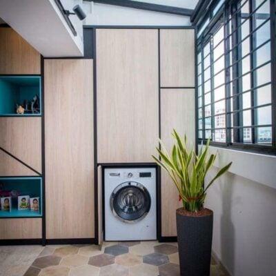 Balcony Laundry Area, Balcony Laundry Ideas, Style Degree, Singapore, SG, StyleMag.