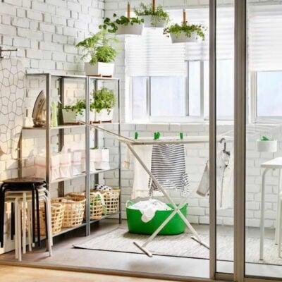 Balcony laundry ironing area, Balcony laundry ironing area ideas, Style Degree, Singapore, SG, StyleMag.