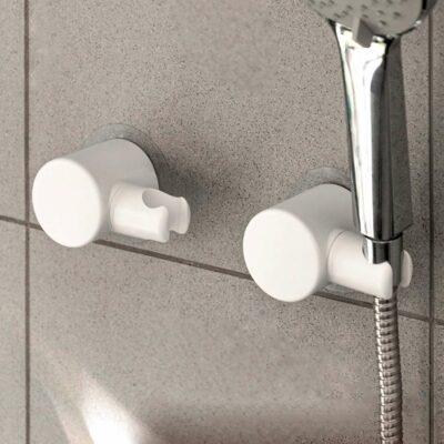 Easy Shower Head Wall Holder Bathroom Shower Stall Non-damaging Style Degree Sg Singapore