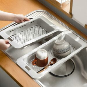 Extendable Over-the-sink Drying Rack