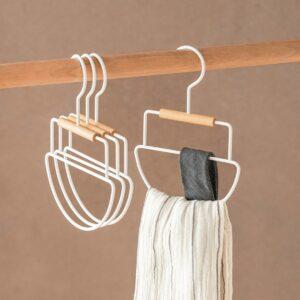 Scandinavian Shawl & Tie Accessory Hanger Clothes Hanger Closet Wardrobe Style Degree Sg