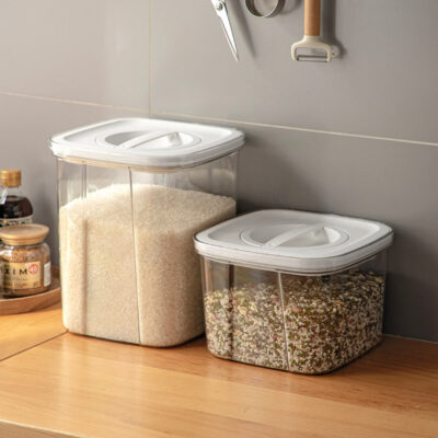 Twist & Turn Airtight Rice Box Pantry Kitchen Cabinet Food Storage Container Style Degree Sg Singapore