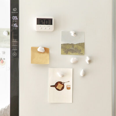Cloudly Memo Fridge Magnets (6pc Set), Cute Magnets for notes, Singapore, SG, Style Degree