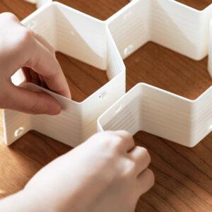Honeycomb Customisable Drawer Organizer