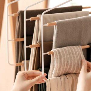 Scandinavian Ladder Pants Hanger Clothes Wardrobe Closet Hangers Style Degree Sg Singapore