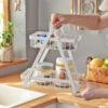 Scandinavian Triangle 2-Tier Storage Tray, Spice Storage Tray, Condiment Rack, Singapore, SG, Style Degree