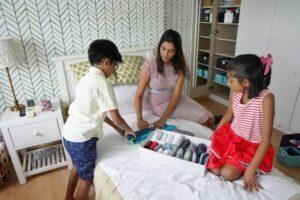 Dr Aparna with children, Dr Aparna organizing, Dr Aparna organizing consultant, Style Degree, Singapore, SG, StyleMag.