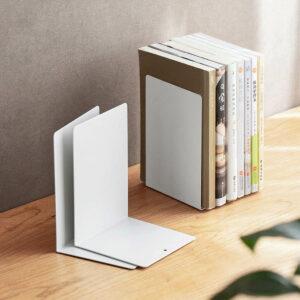 Minimalist Bookends & Divider Stand Desk Bookshelf Bookshelves Magazine Holder Style Degree Sg Singapore