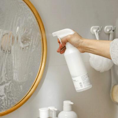 Minimalist Large Spray Bottle Cleaning Bottles Storage Home Garden Mirror Style Degree Sg Singapore