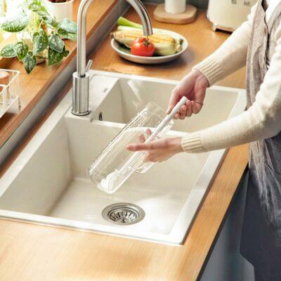 Everyday Bottle & Mug Scrub Cup Sponge Wash Cleaning Style Degree Sg SIngapore